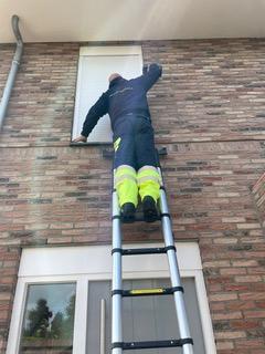 installatie 1e verdieping slaapkamer